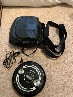 CD Player with case for Sale in Round Rock, TX