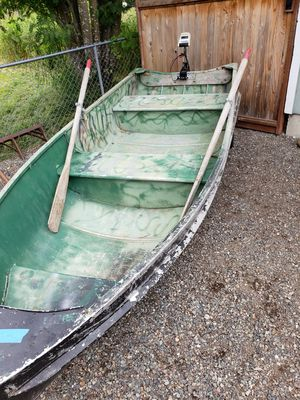 12ft aluminum boat for Sale in Enumclaw, WA