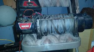 Warn 8000 pound winch for truck for Sale in Sacramento, CA
