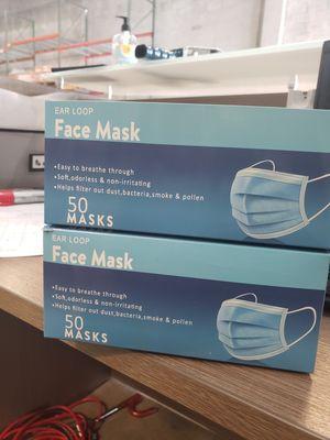 Caja de 50 Pcs $7.00 & $6.00 Caja Masters Face Masks for Sale in Miami, FL