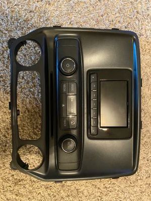 Original working stereo off of 2014 Chevrolet 1500 W/T stereo has mini working screen and CD player. Plug n play. Works great for Sale in Fresno, CA