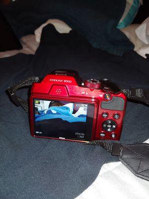 Nikon - COOLPIX B500 16.0-Megapixel Digital Camera - RED for Sale in Killeen, TX