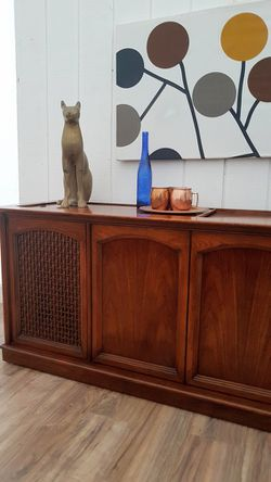 Mid Century Modern Record Player Audiophile Credenza Console- for Sale in Santa Monica,  CA