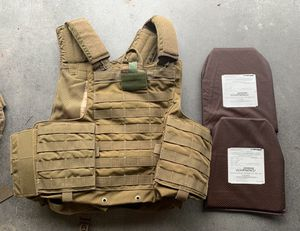 Eagle MAR CIRAS tan khaki plate carrier small for Sale for sale  El Paso, TX