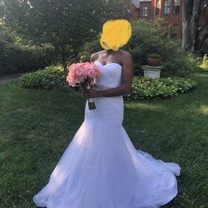 Beautiful Wedding Dress + Petticoat for Sale in Washington, DC