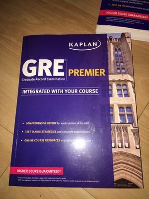 GRE Premier: Integrated with your course work for Sale in West Palm Beach, FL