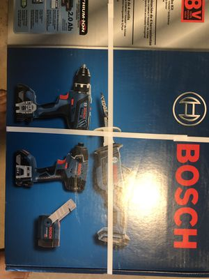 Bosch 4 tool combo set for Sale in Smyrna, TN