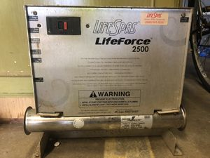 Life Force hot tub heater for Sale in San Diego, CA
