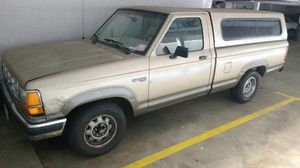 1989 Ford Ranger XLT w/ shell. Single cab, long bed. 119k mileage for Sale in Beverly Hills, CA