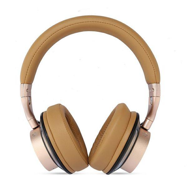 HEADBAND STEREO WIRELESS BLUETOOTH HEADPHONE NOISE CANCELING HEADSET WITH MIC FOR IPHONE, IPAD, IPOD, SAMSUNG, HTC, SONY