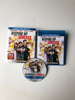 """""""Keeping Up With The Joneses"""" Blu-Ray only for Sale in Gresham, OR"""