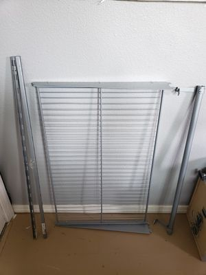 Ikea shelf with hanging rod for Sale in Vancouver, WA