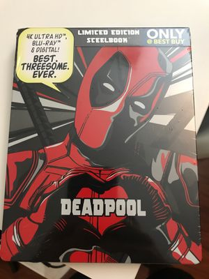 Deadpool Limited Edition Steelbook for Sale in Germantown, MD