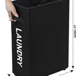 ZERO JET LAG 22in Rolling Slim Laundry Hamper Basket on Wheels Waterproof for Sale in Santa Monica, CA