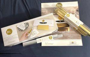 Minc mini foil applicator (Heidi Swapp) & foil for Sale in Haverhill, MA