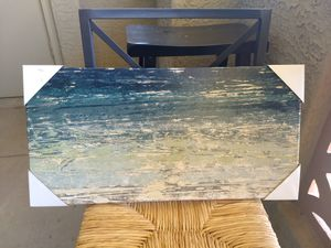 Blue green home decor painting for Sale in Scottsdale, AZ