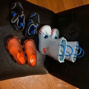 Boys Rain Boots And Water Shoes for Sale in Easley, SC