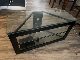 Glass TV Stand for Sale in Long Beach,  CA