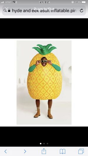 New Hyde and Eek Inflatable Pineapple Costume for Sale in Austin, TX