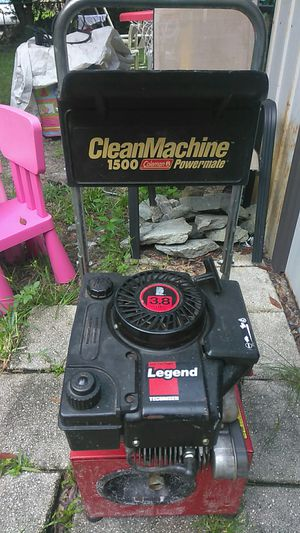 Coleman 1500 psi pressure washer for Sale in New Port Richey, FL