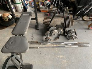 Weight set for Sale in Friendswood, TX