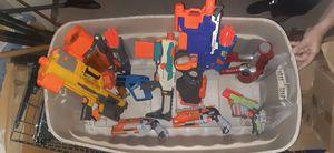 Lot of 9 Nerf Guns Gun for Sale in Avondale, AZ