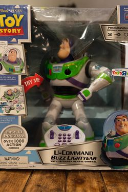 Toy Story Buzz Lightyear Action Figure for Sale in La Puente,  CA