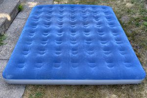 Greatland Inflatable Air Bed Mattress Indoor Outdoor Camping 75x78 for Sale in Milwaukie, OR