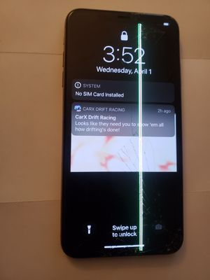 iPhone XS Max passcode locked iCloud activation locked for parts for Sale in Atlanta, GA