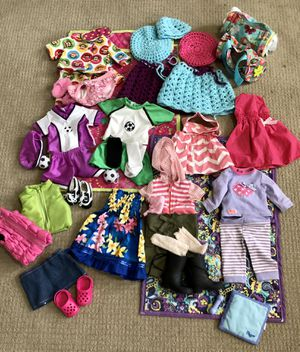 18 Inch Doll Clothes, Blankets & Accessories for Sale in Portland, OR