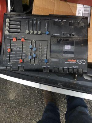 Fostex multitracker X-30 cassette tape recorder for Sale in WA, US