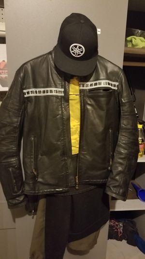 Roland sands design Ronin Yamaha leather motorcycle jacket for Sale in Schertz, TX