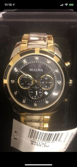 Men's bulova men's watch new for Sale in San Diego, CA
