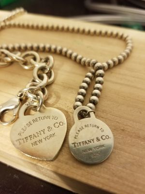 Return to Tiffany bracelet and necklace for Sale in Odenton, MD