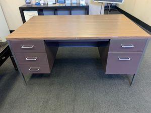 Steel case desk for Sale in Bakersfield, CA