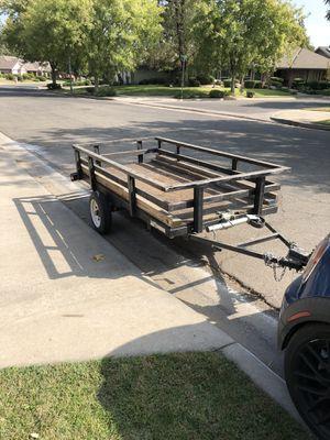 4x8 utility car trailer for Sale in Fresno, CA