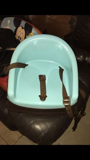 Blue booster seat for Sale in Bellaire, TX