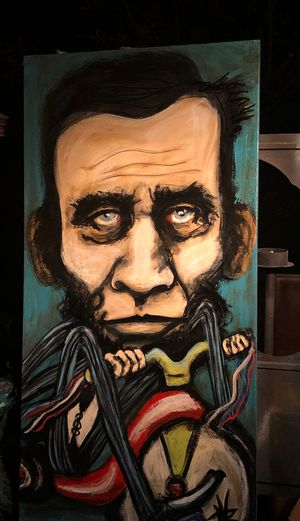 Abe Lincoln painting for Sale in Las Vegas, NV