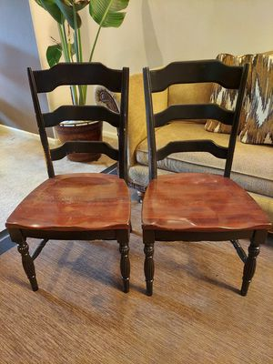 Solid wood chairs for Sale in Katy, TX