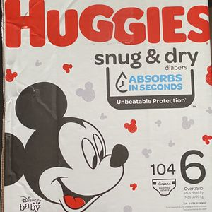 Huggies Diapers Size 6 for Sale in Los Angeles, CA