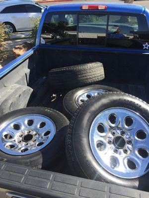17 Silverado stocks need tires ... for Sale in Santa Maria, CA