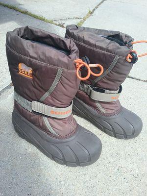 Snow boots, kids 1, Sorel, nice! for Sale in San Jose, CA