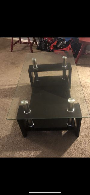 Glass dining table with coffee table for Sale in Washington, DC