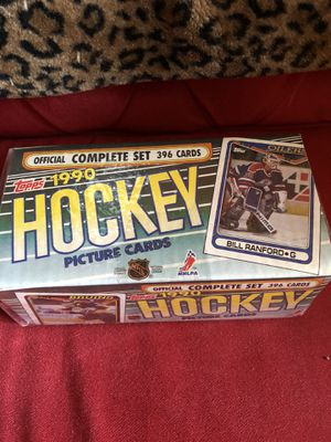 1990 Topps NHL Hockey Complete Factory Sealed Set 396 Cards for Sale in Beverly Hills, CA