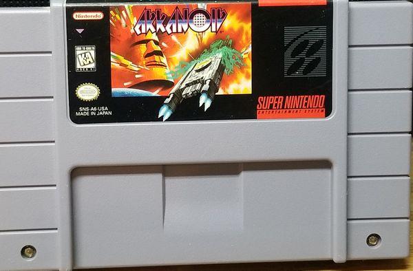 Araknoid Super Nintendo SNES