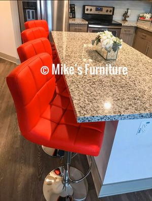 New 4 red stools for Sale in Orlando, FL