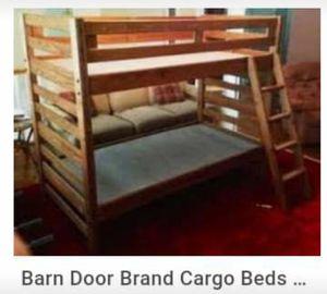 Bunkbed Barndoor Wood for Sale in Haslett, MI