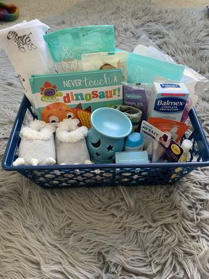 Baby boy basket for Sale in Palmdale, CA