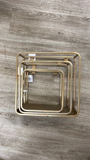 Gold Wall shelf for Sale in Los Angeles, CA