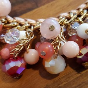 Peach & Pink Necklace for Sale in Bloomington, IL